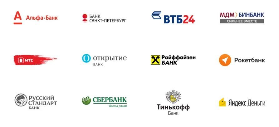 Список банков поддерживающих Apple Pay в России