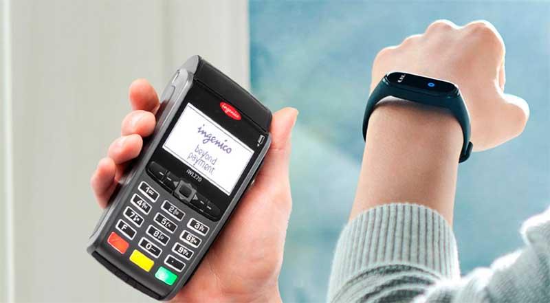 Браслет Сбербанка с чипом NFC